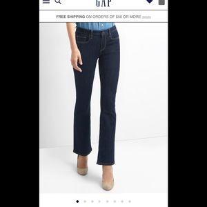Gap 1969 dark wash jeans